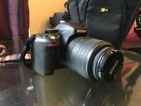 NIKON DSLR D5100 Digital Camera with 18-55 Nikon VR Lens Like New