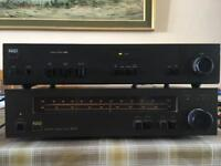 Classic NAD Stereo Amplifier and FM/AM Tuner