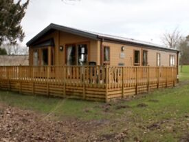 "Willerby Boston 20"" x 40"" Lodge, Springwood Estate, Kelso. Scotland"