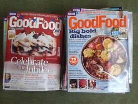 Lot of 40 Issues of BBC Good Food Magazine 2011 to 2014 recipes, baking, cooking - NEEDS TO GO ASAP!