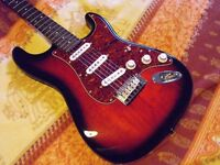 Fender Squier Standard Stratocaster as new.