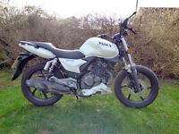 2015 GENERIC KSR MOTO WORX 125 WHITE Accident damaged Spares Repair Project