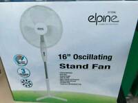 "Brand new 16"" oscillating stand fan £15"