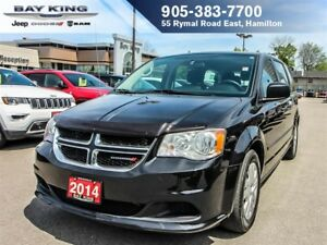 2014 Dodge Grand Caravan CANADA VALUE PKG, 17 WHEELS, PWR WINDOW