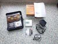 Panasonic Portable Minidisc Recorder SJ-MR100: £60