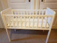 Mothercare Hyde crib and Airflow Foam crib mattress. £20