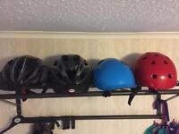 Multiple Cycling Helmets For Sale
