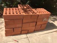Red engineering bricks x 60