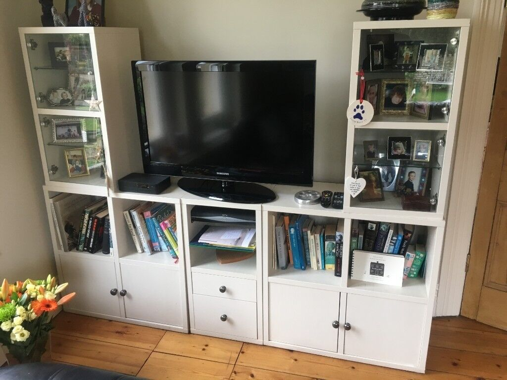 Ikea Painted Living Room Cabinets In Bishopston Bristol