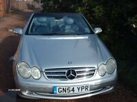 AUTOMATIC MERCEDES BENZ,CLK,CONVERTIBLE[FACELIFT]