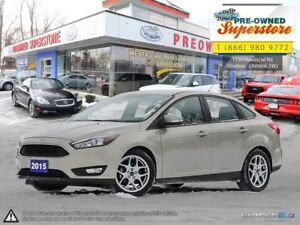 2015 Ford Focus SE ~~~ power Leather seat, rear camera ~~~