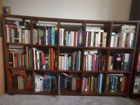 Lovely Large Solid Wood Bookcase