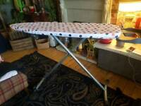 Huge surface ironing board
