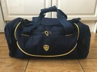Leeds United kit bag