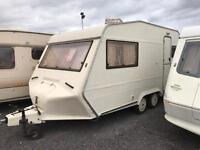 1991 bessacarr cameo twin axle swift elddis abi coachman fleetwood caravan