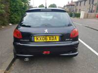 PEUGEOT 206 HDI DIESEL SPORT WITH 10 MONTHS M.O.T