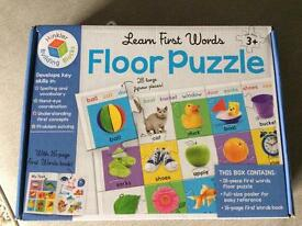 First words flor puzzle