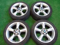 "BMW 1 SERIES 3 SERIES 17"" ALLOY WHEELS"