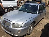 Rover 75 Saloon (2004 - 2005) MK1 Facelift 1.8 Connoisseur SE 4dr silver wing indicator breaking