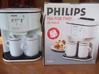 Philips HD7105 Tea for Two Machine