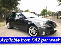 Lexus IS220 F-SPORT (320D 520D A4 Passat Jetta A5) £42 per week