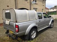 Nissan navara d21 2.5di 4wd double cab pick up