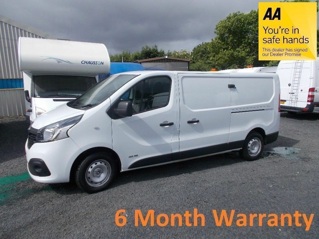 7de6538618 Renault Trafic 2.9T 1.6 LL29 Dci 115 Business+    Direct From Lease  Co   F S H   12 MONTH MOT