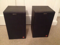 Sony APM-A70E Loud Speakers 2 Way, Rare Incredible Sound, excellent condition & fully working
