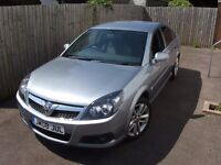 Vauxhall Vectra SRI 1.8vvt in ice silver. 74,000 miles with full service history 12 month mot.