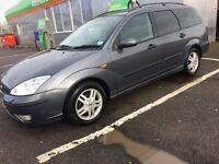 2005 Ford Focus Estate 1.8 petrol MOT - May