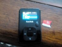 SanDisk Sansa Clip+(8GB) Digital Media Player with latest rockbox installed