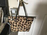 Kurt Geiger leopard print handbag (brand new)
