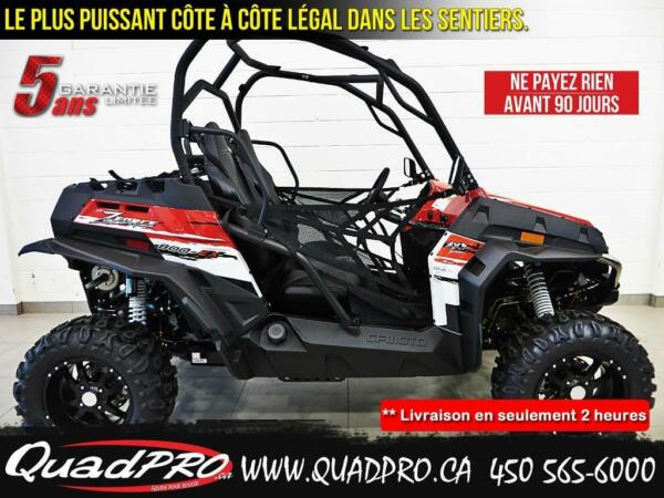 Used 2015 CFMOTO Z-FORCE 800 EX