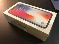 IPHONE X 256GB BRAND NEW SEALED BOXED SPACE GREY UNLOCKED
