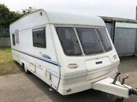 5 Berth Touring Caravan Lunar Solar Eclipse 525 Single axle 2001 Free awning inc