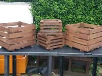 Up cycled garden planters