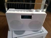 John Lewis DAB spectrum duo radio with Bluetooth New