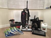 Kirby Avalir Vacuum Cleaner & Accessories Inc Carpet & Hard Floor Shampoo System