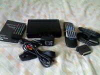 ASDA Digital Freeview Set-Top Box + Extra Leads & Remotes
