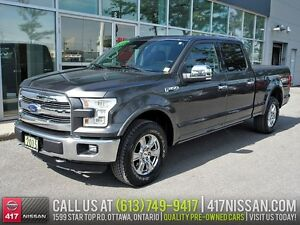 2015 Ford F-150 Lariat FX4 | Navi, Leather, Pano-Sunroof