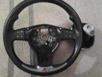 Seat Leon FR steering wheel and gear stick for sale