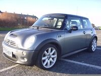 mini cooper s works,190bhp,2 lady owners,96k with fmdsh,runs and drives like new,july mot,great fun.