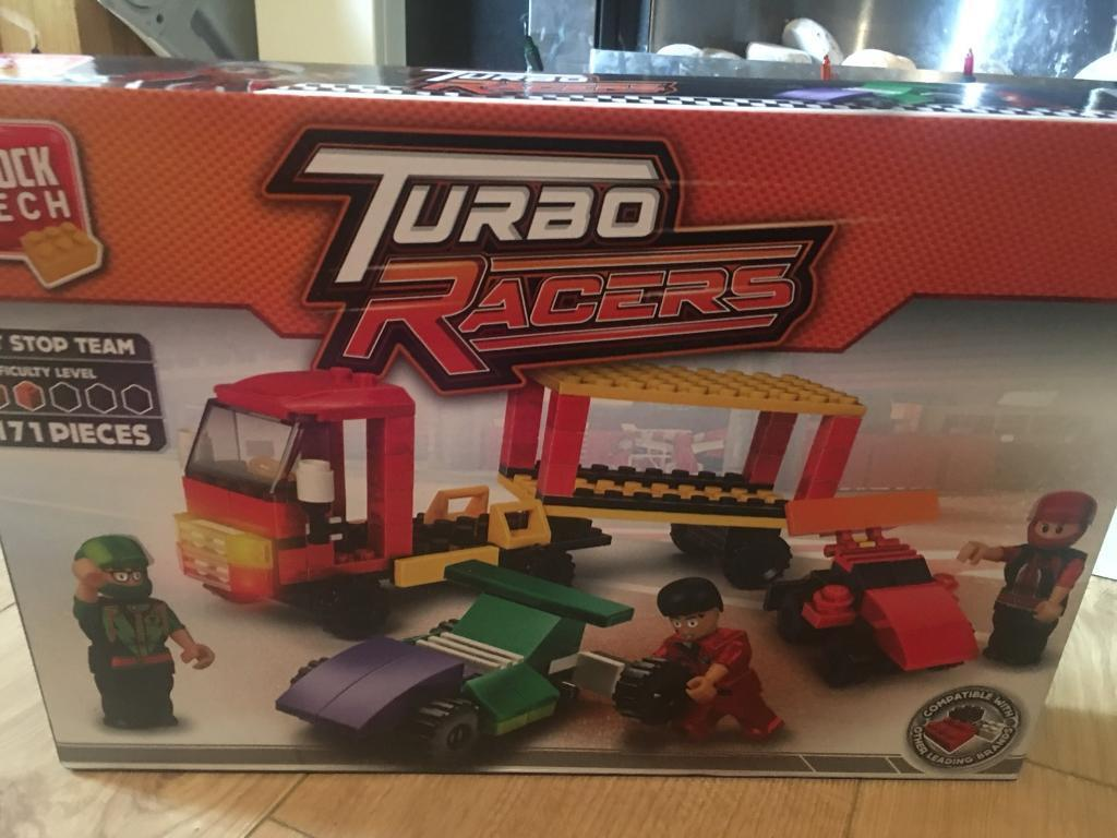 Brand new unopened turbo racers block tech