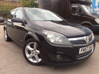 57 Vauxhall Astra SRI - CDTI - 150BHP - 6 speed - one year mot - black - 3 former keep