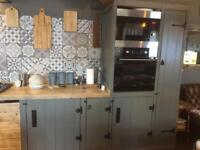 Solid timber full kitchen inc appliances