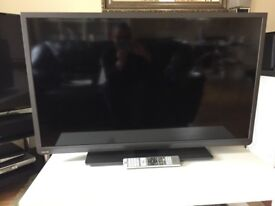 Toshiba 40 inch LCD HD SMART Television.