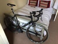 Raleigh Revenio Carbon Road Bike 60cm frame plus Tacx trainer