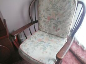 3 COTTAGE GARDEN CHAIRS IN VERY GOOD CONDITION