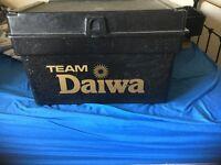 TEAM DAIWA FISHING BOX AND ACCESSORIES