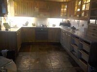 Kitchen cupboard door fronts & oven